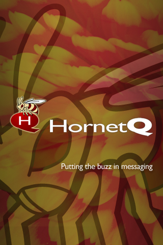 The HornetQ iPhone wallpaper