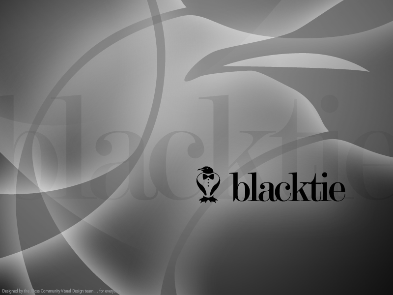 Blacktie Desktop Wallpaper