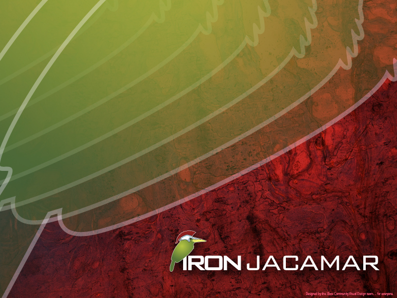Iron Jacamar Desktop Wallpaper